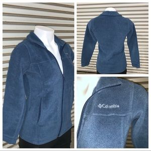 Columbia fleece jacket size medium